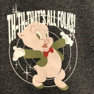 Official Looney Tunes Porky Pig t-shirt